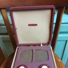 Radios antiguas: RADIÓ VIDOR A VÁLVULAS MODELO MY LADY CATHERINE. Lote 161150666