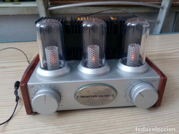 Radios antiguas: Radio Teamtronic - Funciona A Pilas - Foto 2 - 161296982