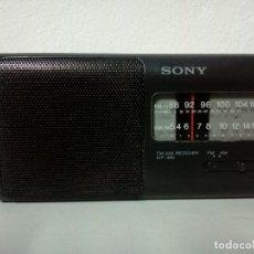 Radios antiguas: RADIO TRANSISTOR SONY ICF 380. Lote 161350106