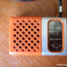 Radios antiguas: RADIO TRANSISTOR SANYO RP-1250 RP1250. Lote 161452954