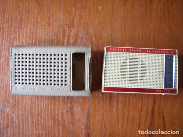 Radios antiguas: RADIO TRANSISTOR HITACHI TRANSISTOR 6 MADE IN JAPAN - Foto 2 - 161453206