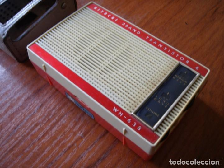 Radios antiguas: RADIO TRANSISTOR HITACHI TRANSISTOR 6 MADE IN JAPAN - Foto 3 - 161453206