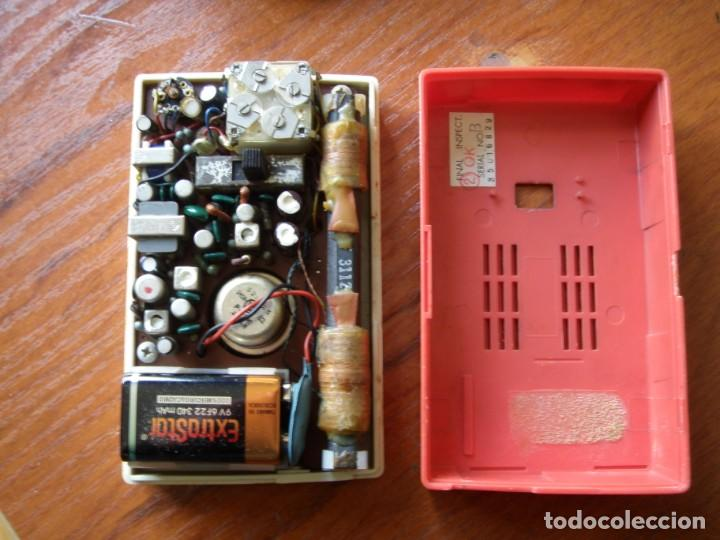 Radios antiguas: RADIO TRANSISTOR HITACHI TRANSISTOR 6 MADE IN JAPAN - Foto 7 - 161453206