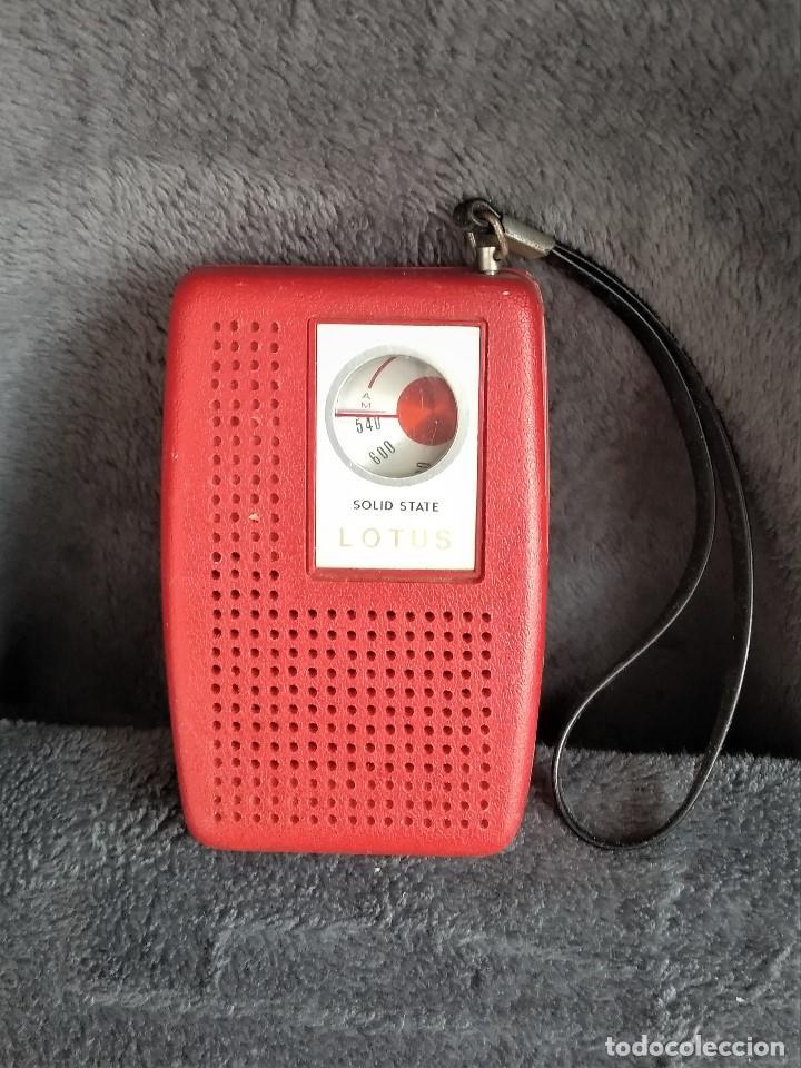 TRANSISTOR LOTUS (Radios, Gramófonos, Grabadoras y Otros - Transistores, Pick-ups y Otros)