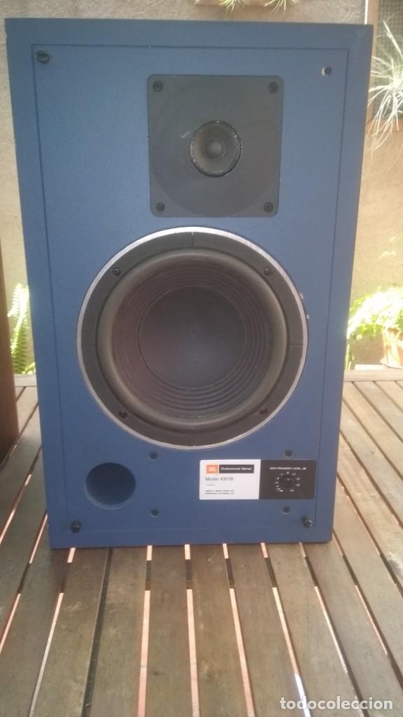 Radios antiguas: Monitores JBL 4301B Todo original-funcionando perfectamente,años 70s - Foto 2 - 162104574