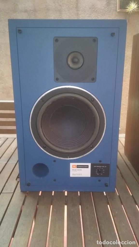 Radios antiguas: Monitores JBL 4301B Todo original-funcionando perfectamente,años 70s - Foto 3 - 162104574