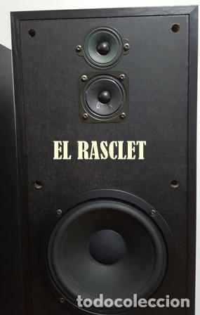 Radios antiguas: ESTUPENDA PAREJA DE ALTAVOCES-SONY SS-E681V - Foto 3 - 162275414