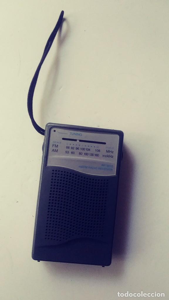 RADIO TRANSISTOR SANYO RP 5072 (Radios, Gramófonos, Grabadoras y Otros - Transistores, Pick-ups y Otros)