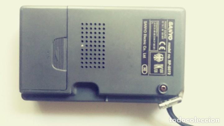 Radios antiguas: Radio transistor Sanyo RP 5072 - Foto 4 - 162321114