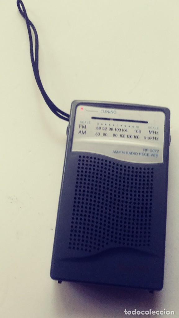 Radios antiguas: Radio transistor Sanyo RP 5072 - Foto 7 - 162321114