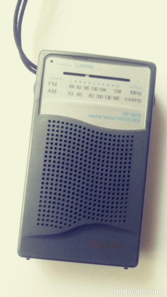 Radios antiguas: Radio transistor Sanyo RP 5072 - Foto 8 - 162321114