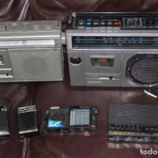 Radios antiguas - LOTE DE RADIOS Y RADIOCASSETTE PARA REPARAR SANYO THOMSON AIWA BRIGMTON - 162427706