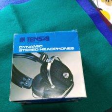 Radios antiguas: AURICULARES TENSAI THP 204 - STEREO HEADPHONES. Lote 163099109