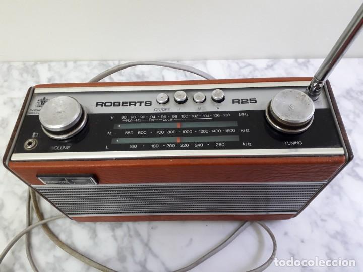 RÀDIO..ROBERTS (Radios, Gramófonos, Grabadoras y Otros - Transistores, Pick-ups y Otros)