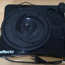 Radios antiguas: TOCADISCOS REFLECTA USB-PLATTENSPIELER PARA REPARAR O PIEZAS. Lote 163598698