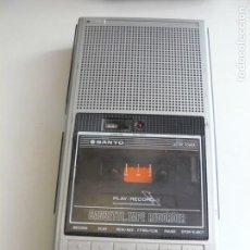 Radios antiguas: CASSETTE GRABADOR- REPRODUCTOR MARCA SANYO. Lote 163700950