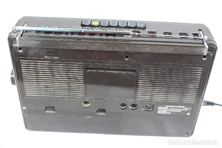 Radios antiguas: Grundig RR720 internacional Estéreo Radio/Cassette - Foto 2 - 164022698