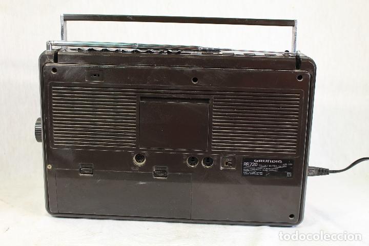 Radios antiguas: Grundig RR720 internacional Estéreo Radio/Cassette - Foto 3 - 164022698