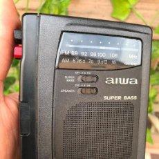 Radios antiguas: AIWA HS-JS315 WALKMAN RADIO CASSETTE RECORDER PLAYER AM FM - FUNCIONANDO - GRABADORA. Lote 164763614
