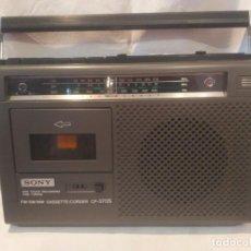 Radios antiguas: RADIO CASSETTE SONY CF-370 S, AÑOS 80, UNA JOYA, VER. Lote 164848214