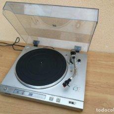 Radios antiguas: ANTIGUO TOCADISCOS DE GRAN CALIDAD MARCA SONY PS-X35 PS X35 FUNCIONANDO. Lote 165045506