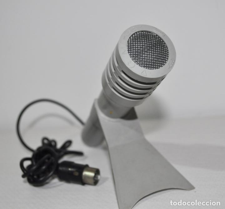 Radios antiguas: MICRÓFONO DE SOBREMESA DE FABRICACIÓN SOVIÉTICA MARCA OKTAVA 1989a .URSS - Foto 2 - 165107038
