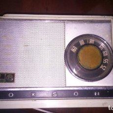 Radios antiguas: RADIO ANTIGUA TRANSISTOR ZEPHYR VOXSON ESPAÑA CON FUNDA . Lote 165928426