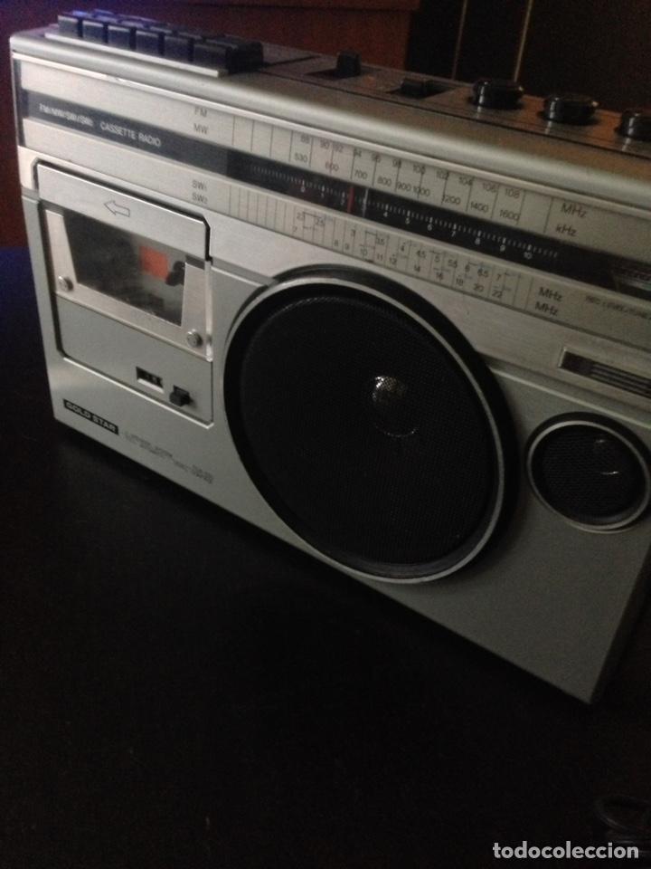 radio casette gold star