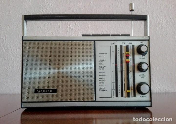 RADIO RUSO DE TRANSISTORES SOKOL 308, RECEPTOR DE RADIO URSS, VINTAGE (Radios, Gramófonos, Grabadoras y Otros - Transistores, Pick-ups y Otros)