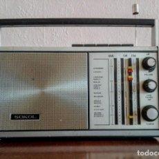 Radios antiguas: RADIO RUSO DE TRANSISTORES SOKOL 308, RECEPTOR DE RADIO URSS, VINTAGE. Lote 165985826
