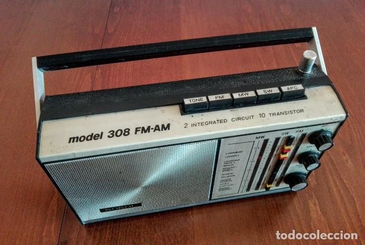 Radios antiguas: Radio ruso de transistores SOKOL 308, receptor de radio URSS, Vintage - Foto 2 - 165985826