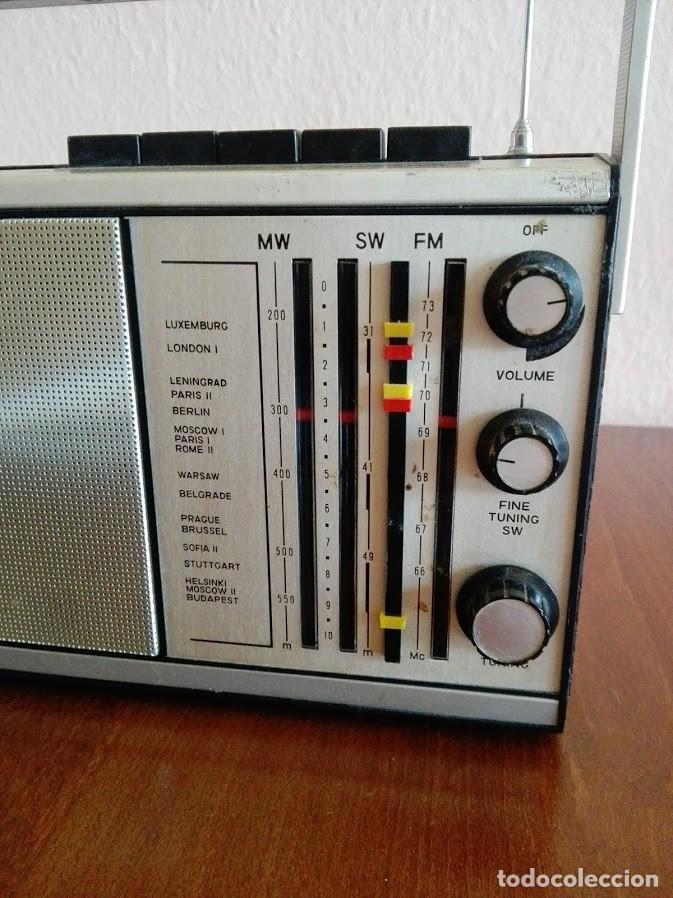 Radios antiguas: Radio ruso de transistores SOKOL 308, receptor de radio URSS, Vintage - Foto 4 - 165985826