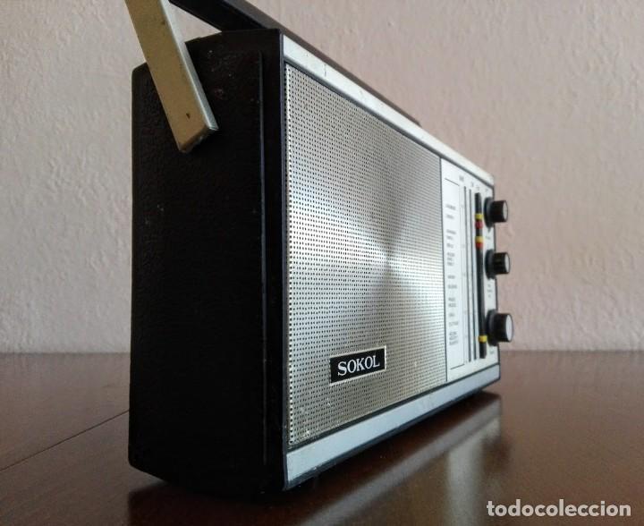 Radios antiguas: Radio ruso de transistores SOKOL 308, receptor de radio URSS, Vintage - Foto 6 - 165985826