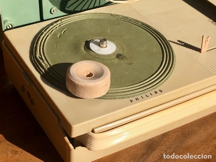 Radios antiguas: Philips All Transistor Tocadiscos Funcionando - Foto 3 - 166050558