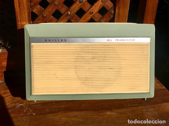 Radios antiguas: Philips All Transistor Tocadiscos Funcionando - Foto 6 - 166050558