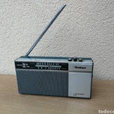 Radios antiguas: RADIO TRANSISTOR INTER EUROMODUL E-2 NO FUNCIONA. Lote 166062937