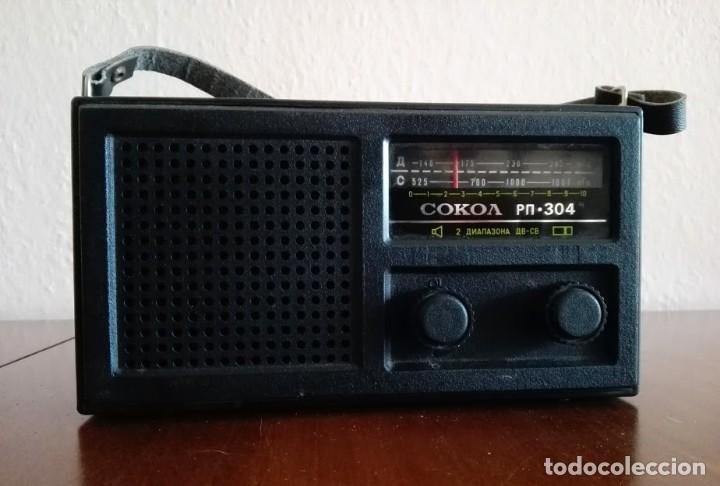 RADIO SOKOL URSS VINTAGE, RADIO PORTÁTIL AÑOS 70 (Radios, Gramófonos, Grabadoras y Otros - Transistores, Pick-ups y Otros)