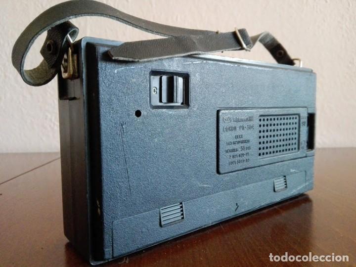Radios antiguas: Radio sokol URSS vintage, radio portátil años 70 - Foto 3 - 166158190