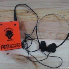 Radios antiguas: MINI RADIO TRANSMISOR DE FRECUENCIA AM DEL MUNDIAL DE FUTBOL DE ESPAÑA DEL 82 MARCA NEEKAI. Lote 166442118