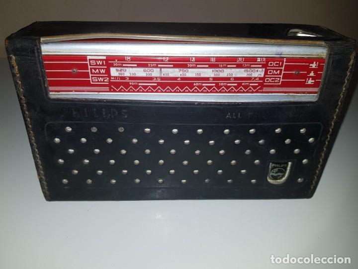Radios antiguas: radio philips - Foto 5 - 166460618