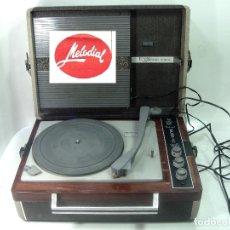 Radios antiguas: MELODIAL 305 - RADIO HISPANO SUIZA FC WEEKEND - ANTIGUO TOCADISCOS PICK.UP AÑOS 70 - PLATO . Lote 166568490