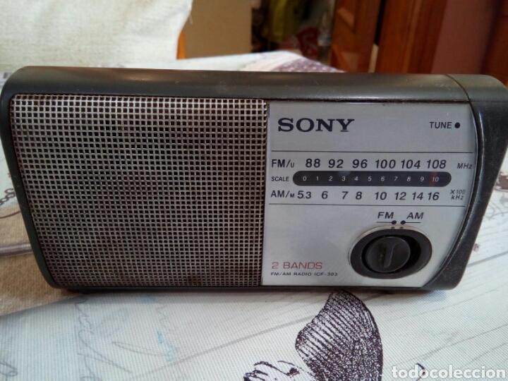 Radios antiguas: RADIO SONY 2 BANDS ICF-303 - Foto 5 - 166697926