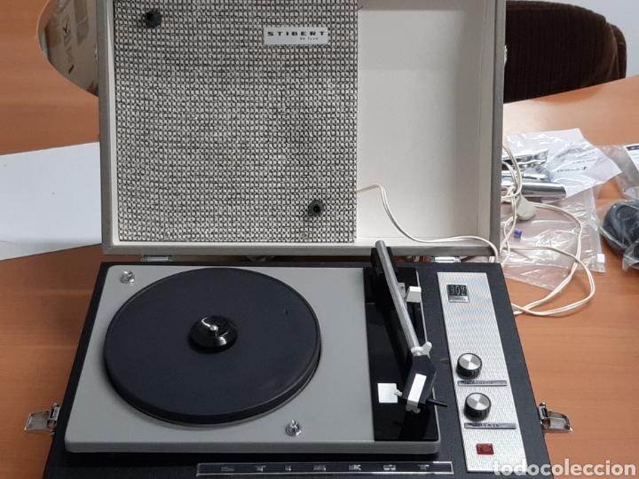 Radios antiguas: Toca discos Stibert - Foto 3 - 167012597