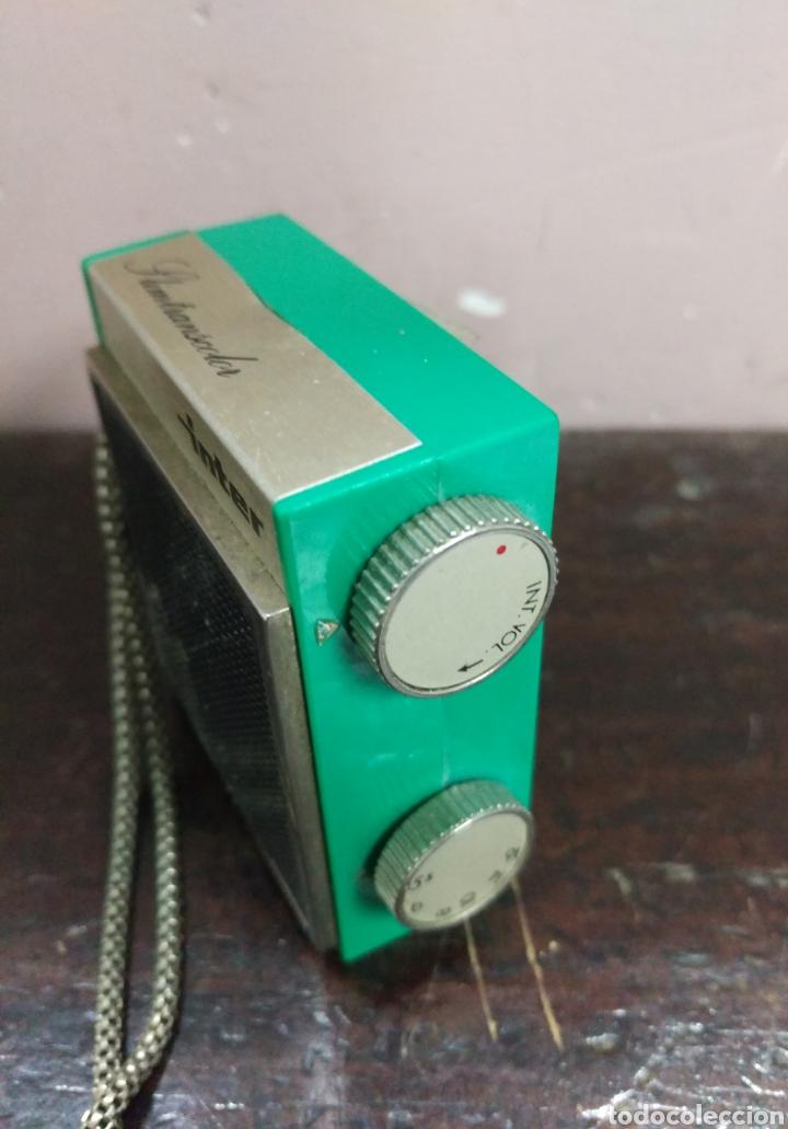 Radios antiguas: INTER SIMTRANSCOLOR - Radio transistor fabricado en España - Foto 2 - 167043996