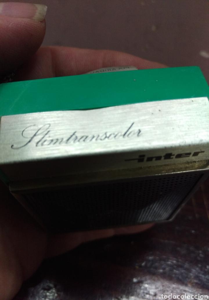 Radios antiguas: INTER SIMTRANSCOLOR - Radio transistor fabricado en España - Foto 5 - 167043996