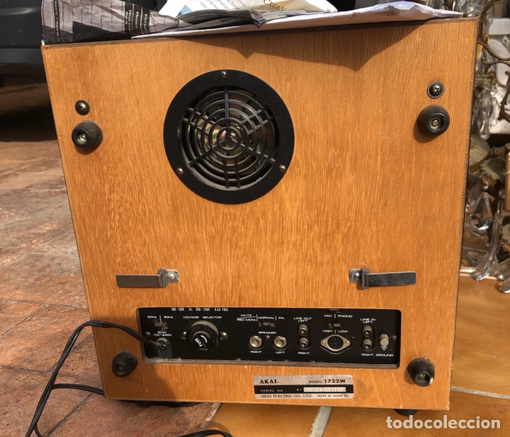 Radios antiguas: Reproductor y grabador de cinta estero akay 1722 W, ENVÍO GRATIS - Foto 5 - 167050122