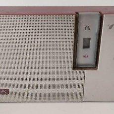 Radios antiguas: RADIO TRANSISTOR LAVIS 200 DE COLOR FUCSIA. Lote 167051636