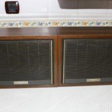 Radios antiguas: PAREJA ALTAVOCES SONY STEREO ANTIGUOS VINTAGE RETRO. Lote 167092284