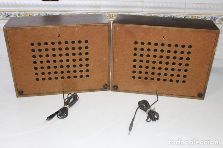 Radios antiguas: PAREJA ALTAVOCES SONY STEREO ANTIGUOS VINTAGE RETRO - Foto 4 - 167092284