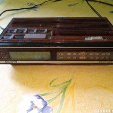 Radios antiguas: RADIO DESPERTADOR SANYO. Lote 167557832